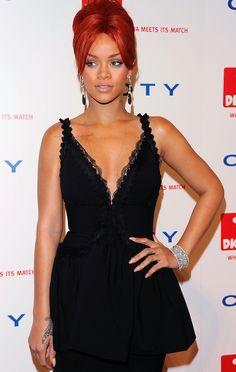 Love that black dress!