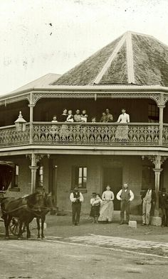 The Adamstown Hotel in New South Wales, photographed on the of September, Old Pictures, Old Photos, Australian Road Trip, Hotel Secrets, Old Pub, Newcastle Nsw, Historical Architecture, Historical Pictures, South Wales