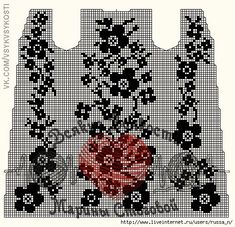 Filet Crochet Charts, Knitting Charts, Knitting Patterns, Tapestry Crochet Patterns, Crochet Motif, Crochet Flowers, Crochet Earrings Pattern, Crochet Cape, Pineapple Crochet