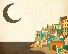 Poster   VARANASI von Jazzberry Blue   more posters at http://moreposter.de