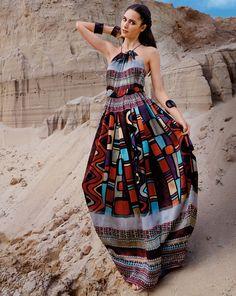Hippie kleid nahen