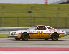 One of Cale Yarborogh's #11 Olds Cutlass'