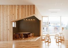 The Leimondo Nursery School  Nagahama, Japan  A project by: Archivision Hirotani Studio Architecture