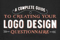 A Complete Guide For Creating Your Logo Design Questionnaire - Letter Shoppe Graphic Design Tips, Graphic Design Inspiration, Tool Design, Web Design, Design Layouts, Graphic Art, Logos, Logo Branding, Branding Design