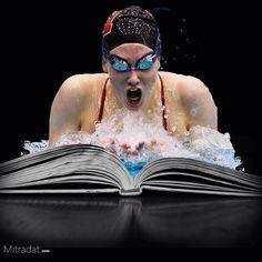 Enjoy drowning . . #book #reading #collage #collageart #myartwork #art #instaart  #instaartist #artoftheday #cutandpaste #modernart #collages #digitalart  #graphicart #digitalcollage #collagesociety  #collagecolectiveco #art_psycho  #piccollage #dailyart