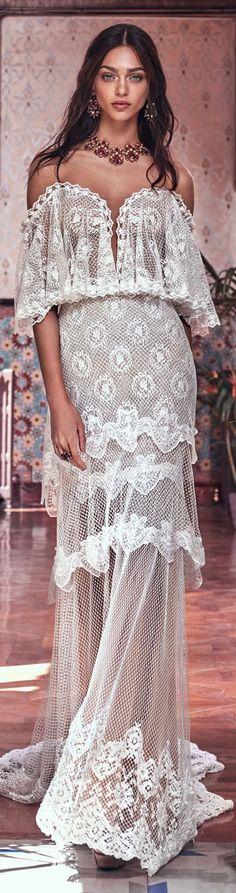 Bohemian wedding dress from Galia Lahav