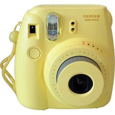 Fujifilm Instax Mini 8 Instant Film Camera (Yellow)... a silly thing to want, but I'd love to be able to photograph and journal on the go!