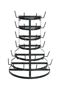 """Over-sized Half Round Farmhouse Drying Rack-Clearly we've become obsessed with finding different types of these funky, functional dry racks. But, seriously....this one can sit OR hang. Absolutely, positively the best of both worlds!Half Round Farmhouse Drying Rack measures 19 1/4"""" x 26 1/4"""""""