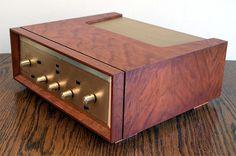 Radio Design, Wooden Case, Mid Century Modern Design, Audio Equipment, Floating Nightstand, Decks, Fisher, Mid-century Modern, Architecture Design