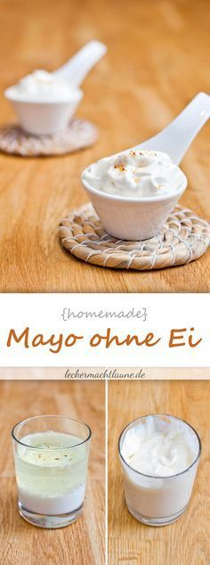 Mayo without egg {basic recipe - Modern World Recipes, Dip Recipes, Vegan Recipes, Cooking Recipes, Party Finger Foods, Cooking With Kids, Diy Food, Healthy Cooking, Food Hacks
