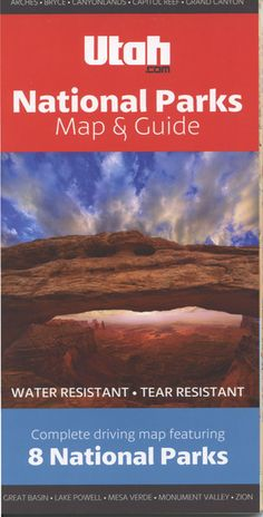 #1 Utah.com National Parks Map & Guide