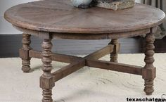 Coastal Reclaimed Wood Coffee Table Nautical Beach House Cottage Driftwood Style | eBay