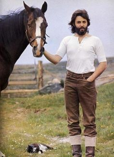 Paul McCartney, in the heart of the country