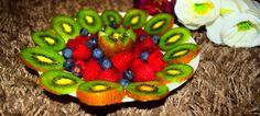 A #healthy #delicious #fruit bowl - that's the #kiwi to vitamin C