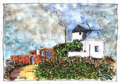 murilo romeiro Το σπίτι με τον  παλιό Μύλο.