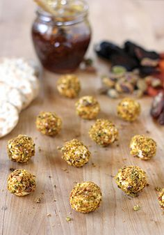 The Galley Gourmet: Sunday Dinner, Mild Goat Cheese and Cream Cheese Truffles rolled in crushed Pistachios served with Figs, chutney and other homemade preserves and sauces