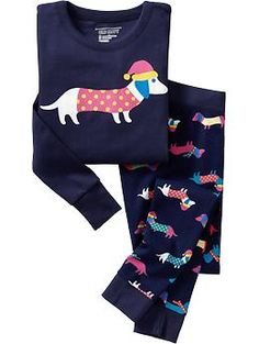 Girls Printed PJ Sets | Old Navy
