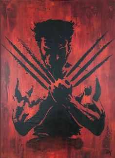 This very strong art of Wolverine with his knives out made by Dick Kuyten will look amazing printed on brushed Aluminium. The original piece has already been sold and is hanging on a very lucky wall in Rotterdam. Check out the site for more of his work. Marvel Paintings, Abstract Paintings, Wolverine Art, Iron Man Art, Satoshi Nakamoto, Spiderman Art, Marvel Art, Rotterdam, Comic Art