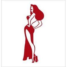 Vinyl Decal -- Jessica Rabbit
