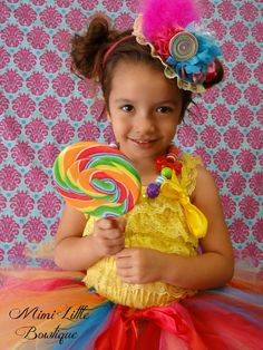 Mini Top Hat Candyland Top Hat Birthday Hat by MimiLittleBowtique, $19.99