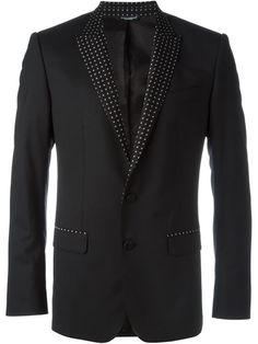 Dolce & Gabbana contrasted lapel blazer