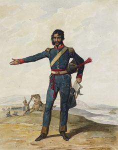 Portuguese Army.  10th Cavalry Regiment, 1812.