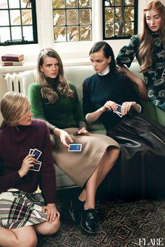 Ivy League- November 2012 / Beauty Director: Carlene Higgins / Assistant Art Director: Jessica Hotson / Photographer: Andrew Soule