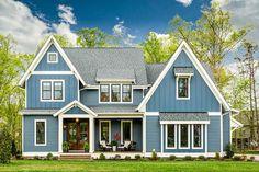 This gorgeous Craftsman house plan