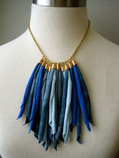blue tassels by Hoogs @Etsy! $22.00