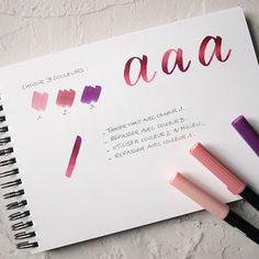 Noëlie | Calligraphique (@calligraphique) • Photos et vidéos Instagram Lettering, Photos, Instagram, Pictures, Drawing Letters, Brush Lettering