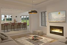 McGuigan Architects | McGuigan Architects » Oak Tree House Tree House Interior, Oak Tree, Architects, House Plans, House Design, Luxury, House Ideas, Houses, Home Decor