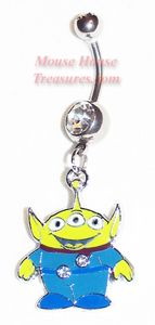 Disney Toy Story Belly Rings  If I only had a belly piercing. =/