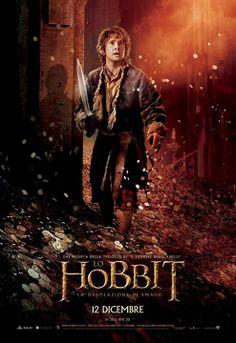 Bilbo in un character poster italiano de #LoHobbit #DesolazionediSmaug #TheHobbit #Hobbit