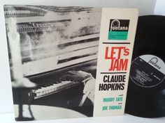 CLAUDE HOPKINS WITH BUDDY TATE AND JOE THOMAS lets jam - JAZZ, BLUES, Jazz-rock-prog, nearly jazz and nearly blues!
