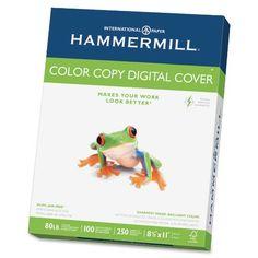 Hammermill Paper, Color Copy Digital Cover, 80 lb, 8.5 x ...