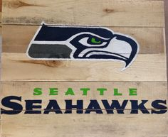 Kayler's Crafting Corner: Seattle Seahawks pallet sign