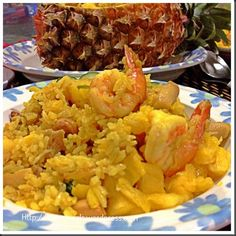 Fish Sauce,Turmeric, Pineapples Make Khao Phat Sapparot Unique… Thai Pineapple Fried Rice…