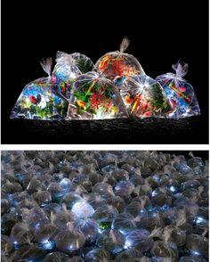 by Luzinterruptus Plastic Art, A Level Art, Plastic Pollution, Stage Set, Gcse Art, Environmental Art, Stage Design, Design Process, Thesis