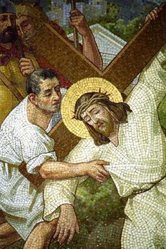 Krilich Mosaics - 14 Stations of the Cross Catholic Art, Religious Art, Christian Paintings, Pictures Of Jesus Christ, Jesus Art, In Christ Alone, Jesus On The Cross, Mosaic Art, Mosaic Crosses