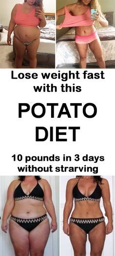 Lose weight fast with this potato diet. #weightloss #dietplan