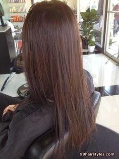 beautiful long brunette hair - 99 Hairstyles Ideas