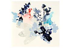 Jen Garrido, Summer Flowers Original II | Find the Perfect Piece | One Kings Lane