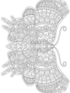 Butterfly Coloring Page, Flower Coloring Pages, Mandala Coloring Pages, Colouring Pages, Coloring Books, Coloring Sheets, Detailed Coloring Pages, Free Adult Coloring Pages, Printable Coloring Pages
