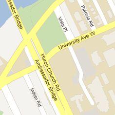 Uwindsor Campus Map.10 Best Uwindsor Images Colleges University Ontario