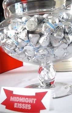 Leave out Midnight Kisses on New Years PLUS 6 other Party Hacks