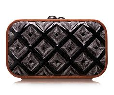 Signature Check Quilted Square Bag by Katrin Langer for Preorder on Moda Operandi Chuck Tv Show, Ss 15, Square Quilt, Clutches, Purses And Bags, Zip Around Wallet, Crossbody Bag, Shoe Bag, Totes