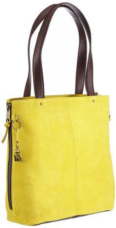 Kipling HERMINE Shoulder Bag Womens Yellow Gelb (Brilliant Yello) Size: 32x30x13 cm (B x H x T): Amazon.co.uk: Shoes & Bags