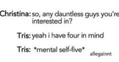 Divergent - tris prior - four - funny divergent - Tobias eaton