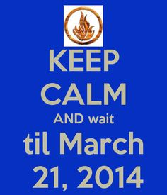The Divergent movie won't come soon enough! I MIGHT GO INSANE IF IT DOESN'T COME FASTER!!!!!!GRRRRRR!!!!!