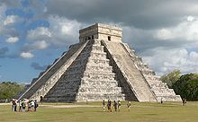 Archaeological sites of Chichén-Itzá, one of the New Seven Wonders of the World